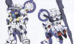 【ガンダム ファントム・ブレット】幻のガンダム試作0号機貼る