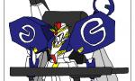 【ガンダム センチネル】うろ覚えでEx-Sガンダム描いたwwwwwww