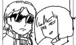 【Zガンダム】シャアが頭下げるシーン描いたwwwwwwwwwww