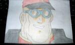 【Zガンダム】がんばってバスク・オム大佐描きました